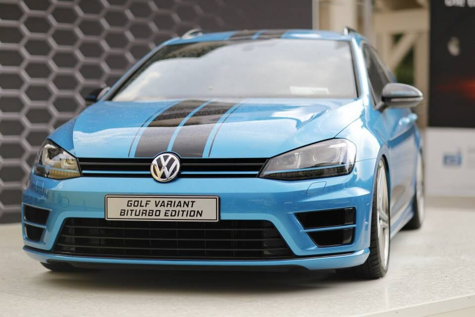 VW Volkswagen Golf Variant Biturbo Edition
