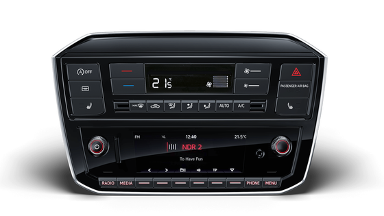 VW UP! Radio s funkcijo RDS